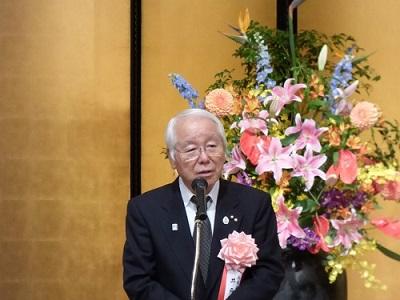 井戸知事よりの祝辞